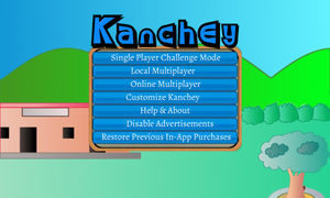 Kanchey Main Menu